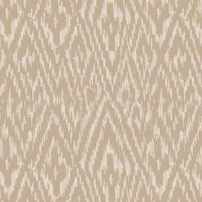 Diamond Ikat Texture- Tan