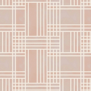 Block Patchwork- Blush