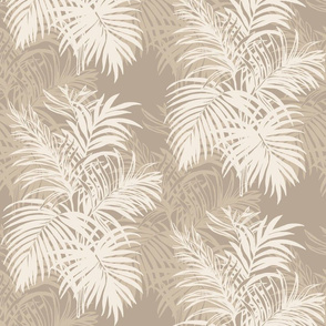 Tan Tropical Leaves