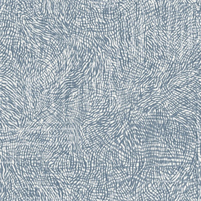 Abstract Animal Texture- Blue Grey