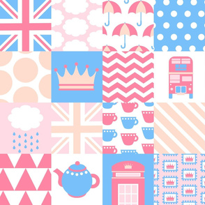 British Cheater Quilt