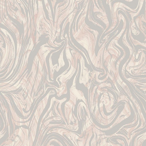 Marble- Stone Grey and Blush