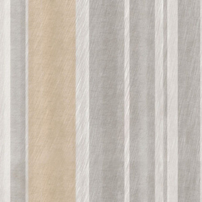 Grey and Tan Stripe