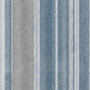 Navy and Grey Stripe