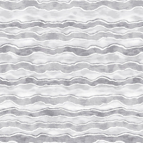 Grey Horizontal Wave Texture