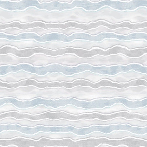 Pale Blue and Stone Grey Horizontal Wave Texture