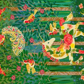 Folk Art Merry-Go-Round