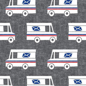 Mail Trucks - grey - LAD19