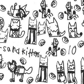 10 Cats and Kittens Multiplied by Kaitlyn