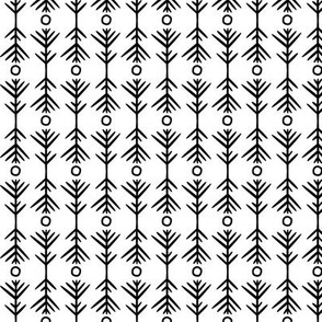 small - pattern study one on white