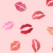 Lipstick kisses - large