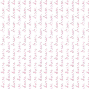 dream row VERTICAL - white pink text SMALL28