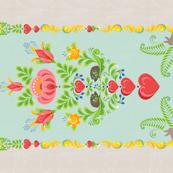Folktale Glade Tea Towel
