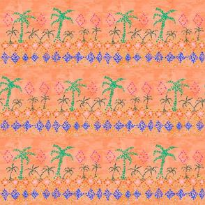 Tropical Miami Mosaic