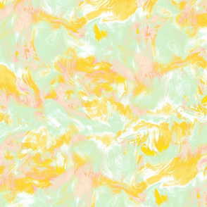 Marble mist green yellow pink medium scale
