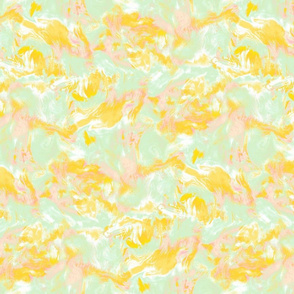 marble mist yellow green pink small scale