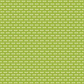TINY - lime green dog bone fabric dogs pet dog design coordinating fabric