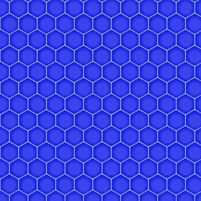 Hexagons - Purple (Large Scale)