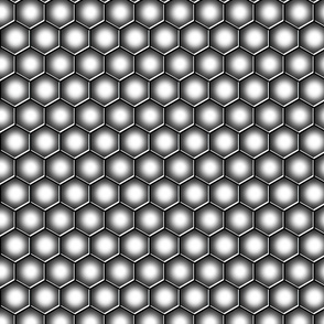 Hexagons - Metallic Squadron Scales