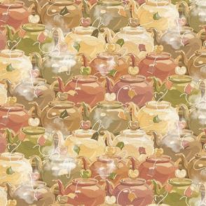 Tea Love | Muted Earthy Colors