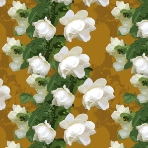 White Rose Multiple Mustard