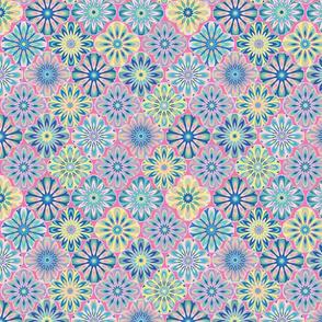 mandala flower pink