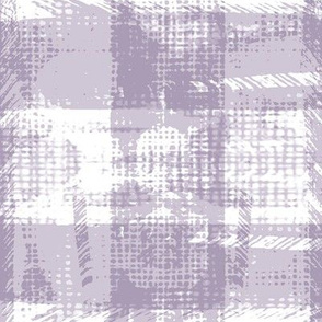 modern plaid texture light lavender purple white