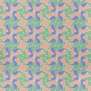 Geometric / Blush