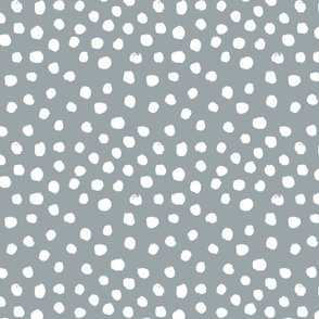painted dots - nursery dots - sfx4305 quarry - dots fabric, painted dots, dots wallpaper, painted dots wallpaper - baby, nursery