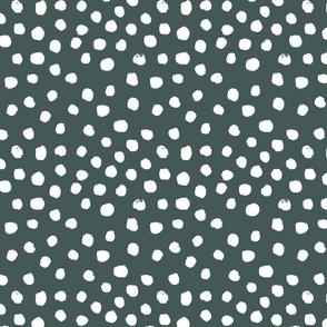painted dots - nursery dots - sfx5914 spruce - dots fabric, painted dots, dots wallpaper, painted dots wallpaper - baby, nursery