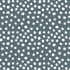 painted dots - nursery dots - sfx4011 stone - dots fabric, painted dots, dots wallpaper, painted dots wallpaper - baby, nursery