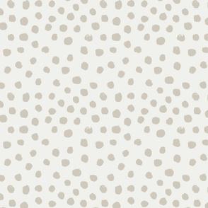 painted dots - nursery dots - sfx5304 oat - dots fabric, painted dots, dots wallpaper, painted dots wallpaper - baby, nursery