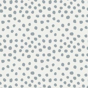 painted dots - nursery dots - sfx4305 quarry - dots fabric, painted dots, dots wallpaper, painted dots wallpaper - baby, nursery