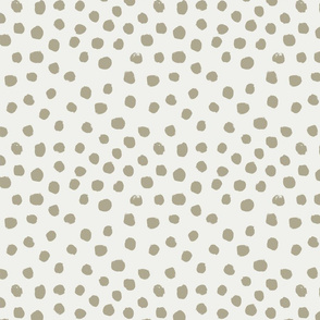 painted dots - nursery dots - sfx0513 eucalyptus - dots fabric, painted dots, dots wallpaper, painted dots wallpaper - baby, nursery