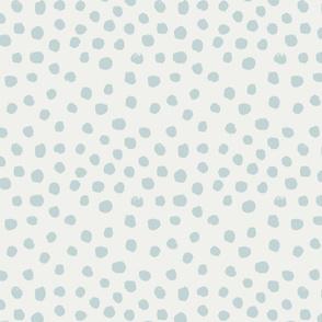 painted dots - nursery dots - sfx4405 mist - dots fabric, painted dots, dots wallpaper, painted dots wallpaper - baby, nursery