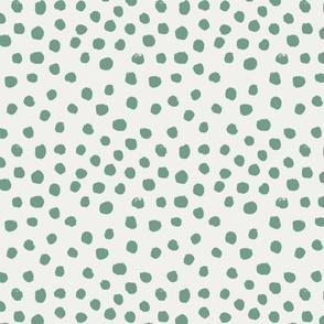 painted dots - nursery dots - sfx5815 rainforest - dots fabric, painted dots, dots wallpaper, painted dots wallpaper - baby, nursery