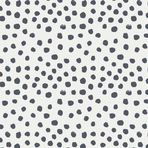 painted dots - nursery dots - sfx3919 night - dots fabric, painted dots, dots wallpaper, painted dots wallpaper - baby, nursery