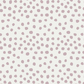 painted dots - nursery dots - sfx1905 lilac - dots fabric, painted dots, dots wallpaper, painted dots wallpaper - baby, nursery