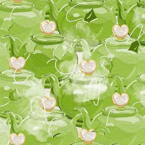 Tea Love | Large | Lime Green