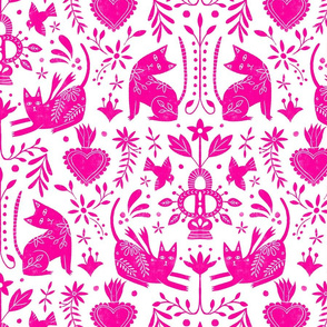 Mexican Folk Art Pink