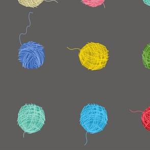Fancy Yarn Largescale (grey)