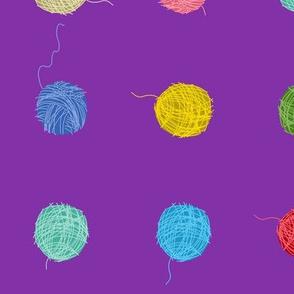 Fancy Yarn Largescale (purple)