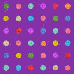 Fancy Yarn Smallscale (purple)