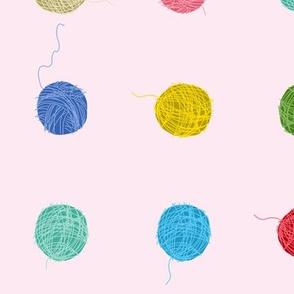 Fancy Yarn Largescale (pink)
