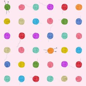 Fancy Yarn Smallscale (pink)