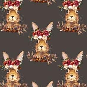 """4"""" Harvest Bunny Ash Back"""