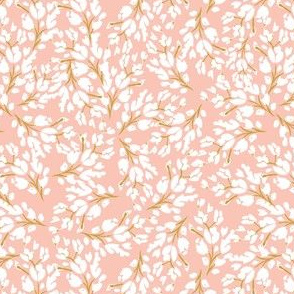 Blush Floral Frost 5x5