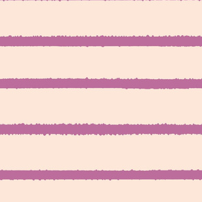Wide Jagged Stripes Nude_Lavendar