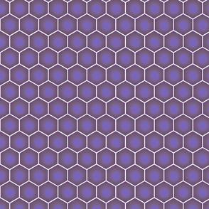 Hexagons - Lavender Purple Mauve