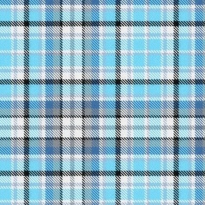 Sky and Colonial Blue Plaid